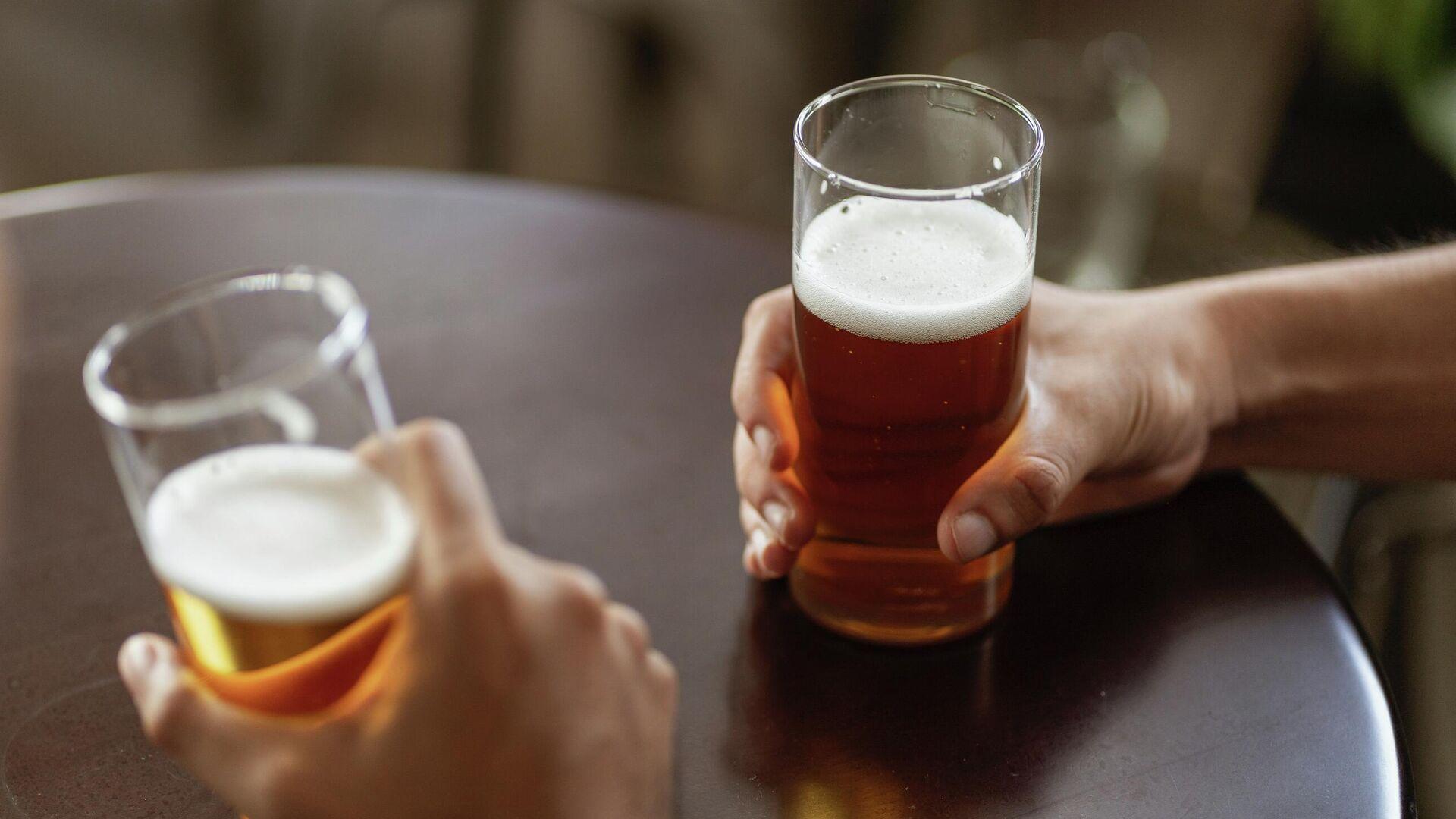 Cerveza, imagen referencial - Sputnik Mundo, 1920, 09.07.2021