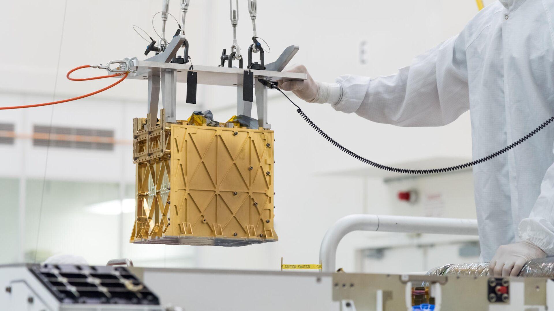 El Experimento de utilización de recursos in situ de oxígeno en Marte (MOXIE) - Sputnik Mundo, 1920, 22.04.2021