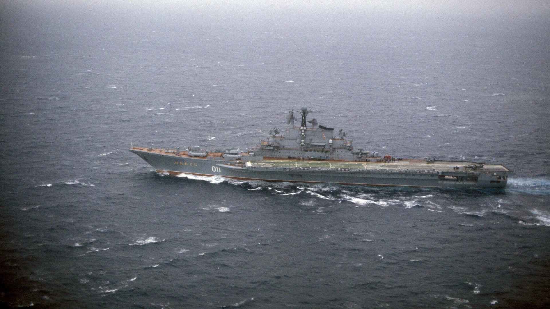 El portaaviones Minsk de la clase Kiev de la Armada de la URSS en 1983  - Sputnik Mundo, 1920, 23.04.2021