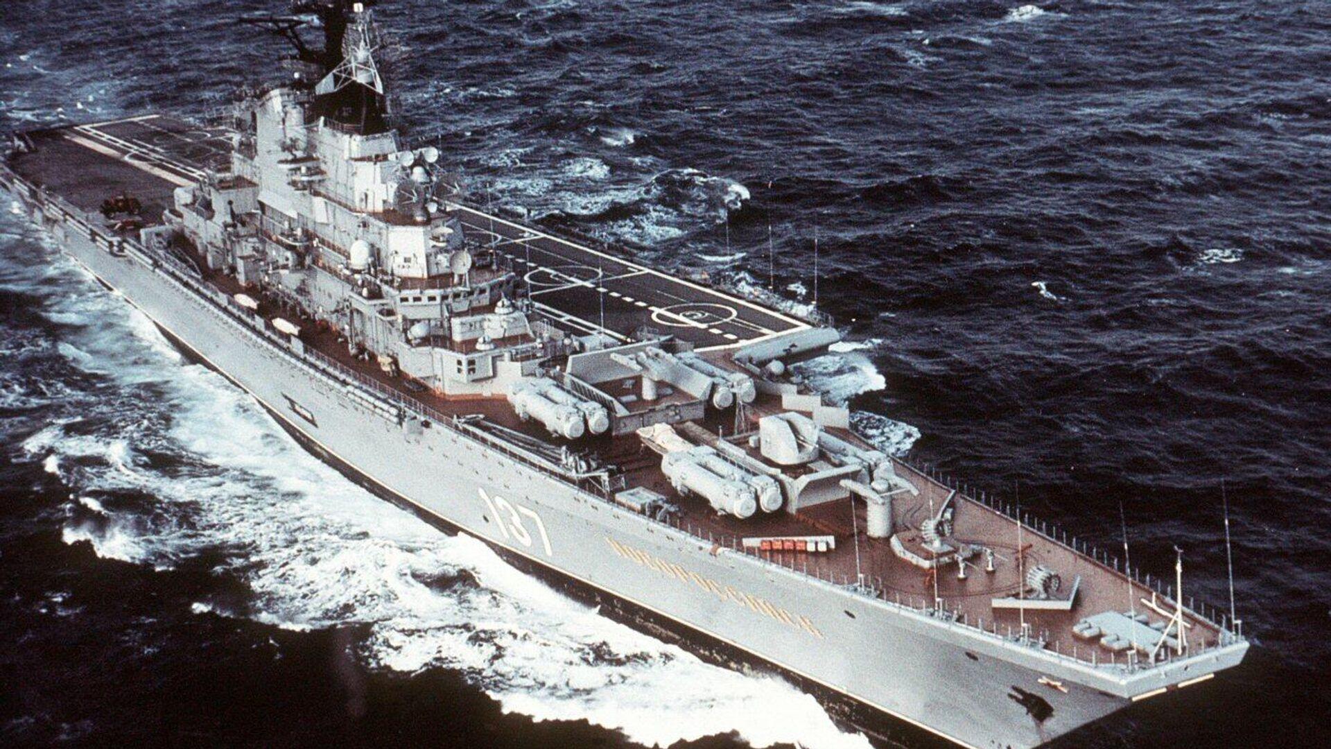 El portaaviones Novorossiysk de la Armada de la URSS - Sputnik Mundo, 1920, 23.04.2021