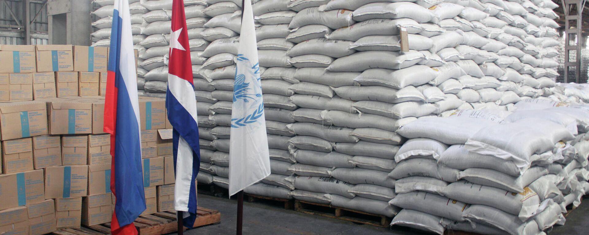 Parte del donativo de Rusia a Cuba a través del Fondo Mundial de Alimentos - Sputnik Mundo, 1920, 23.04.2021