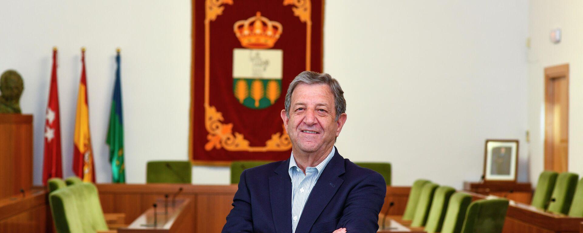 Luis Partida, alcalde de Villanueva de la Cañada, Madrid - Sputnik Mundo, 1920, 28.04.2021