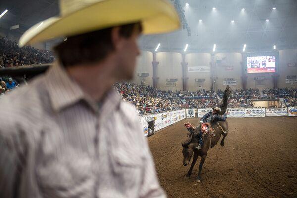 Un rodeo en San Angelo en Texas (Estados Unidos). - Sputnik Mundo