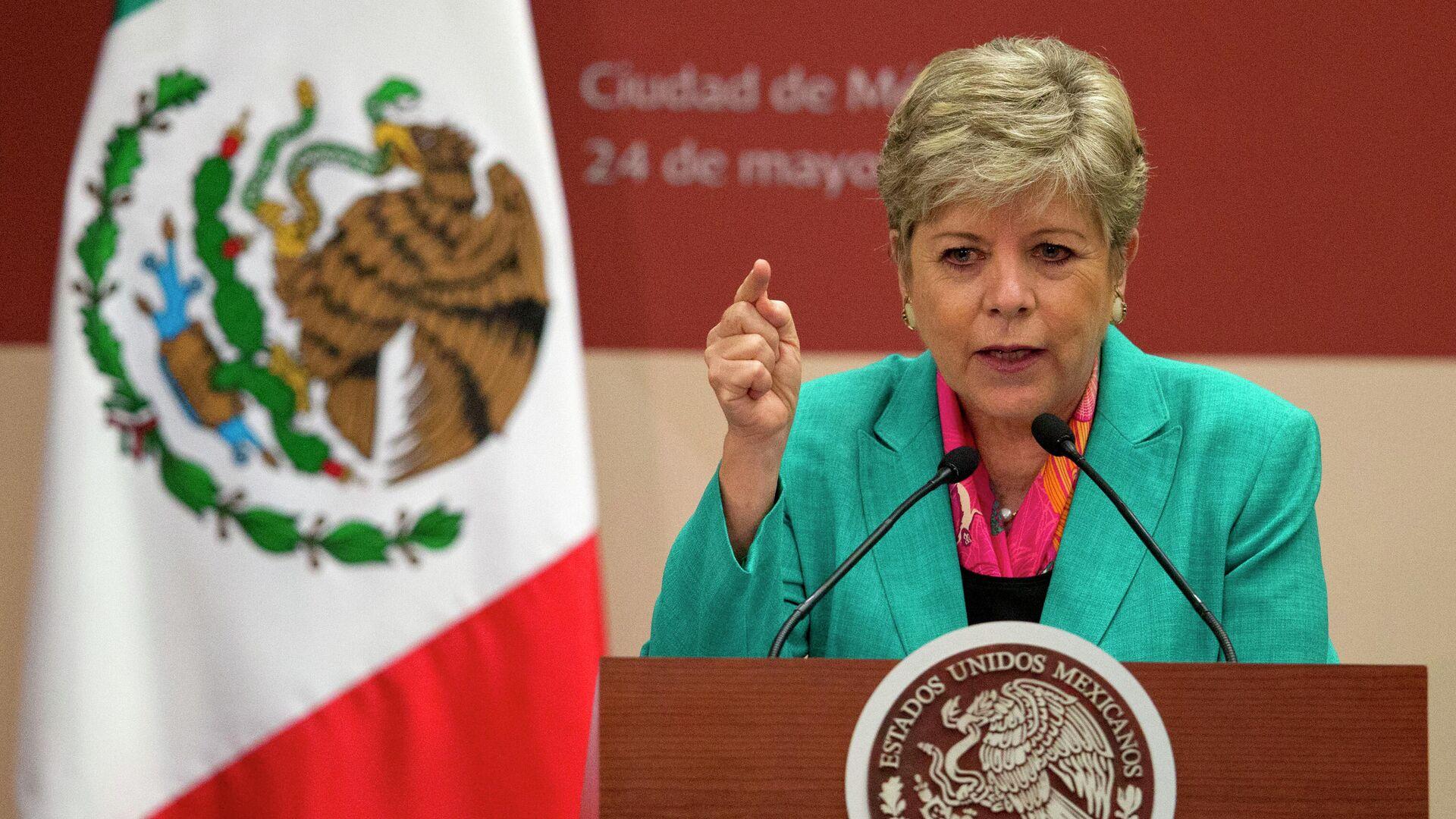 La directora ejecutiva de la Comisión Económica para América Latina y el Caribe de las Naciones Unidas (CEPAL), Alicia Bárcena - Sputnik Mundo, 1920, 23.04.2021
