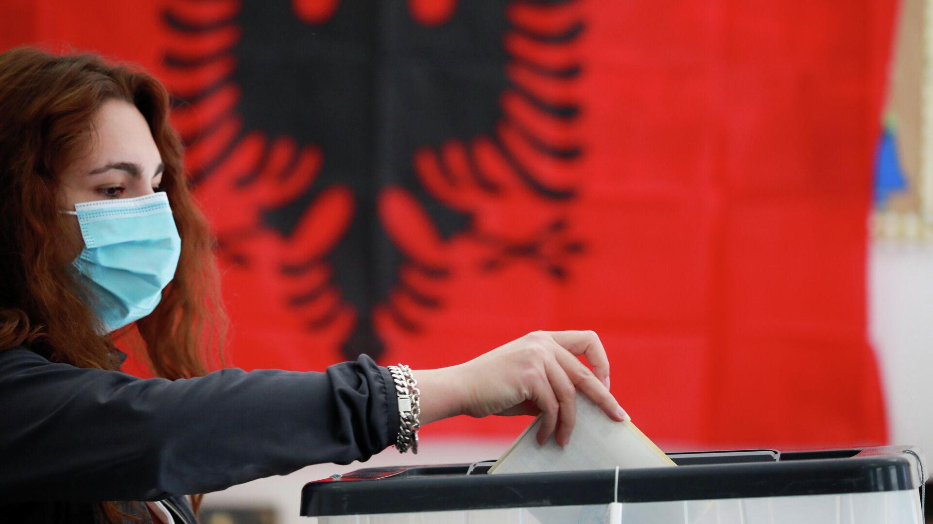 Las elecciones en Albania - Sputnik Mundo, 1920, 25.04.2021