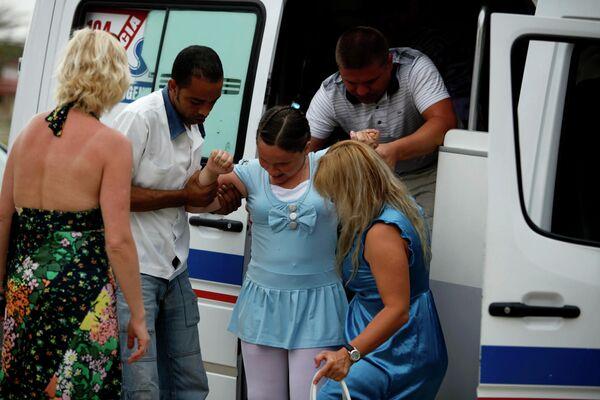 Programa de asistencia a los 'niños de Chernóbil' en Cuba en 2010 - Sputnik Mundo