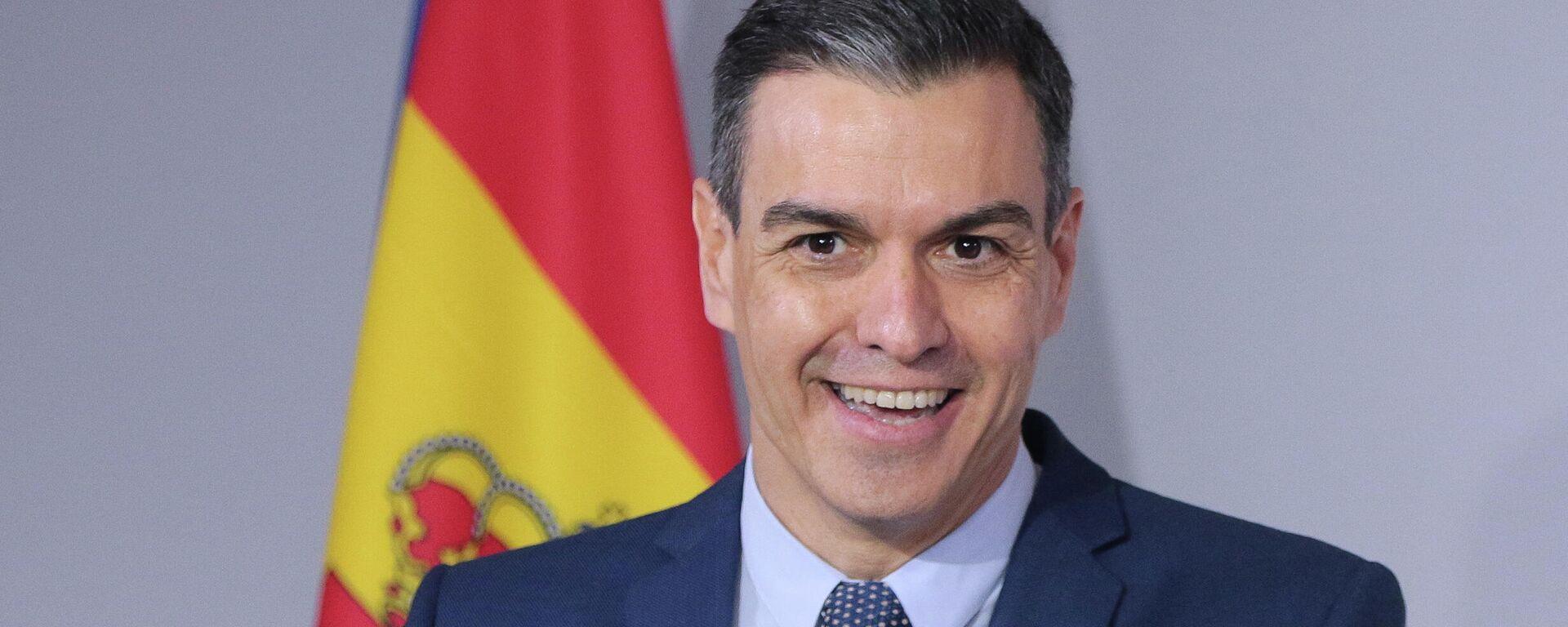 Pedro Sánchez, presidente del Gobierno de España - Sputnik Mundo, 1920, 21.05.2021