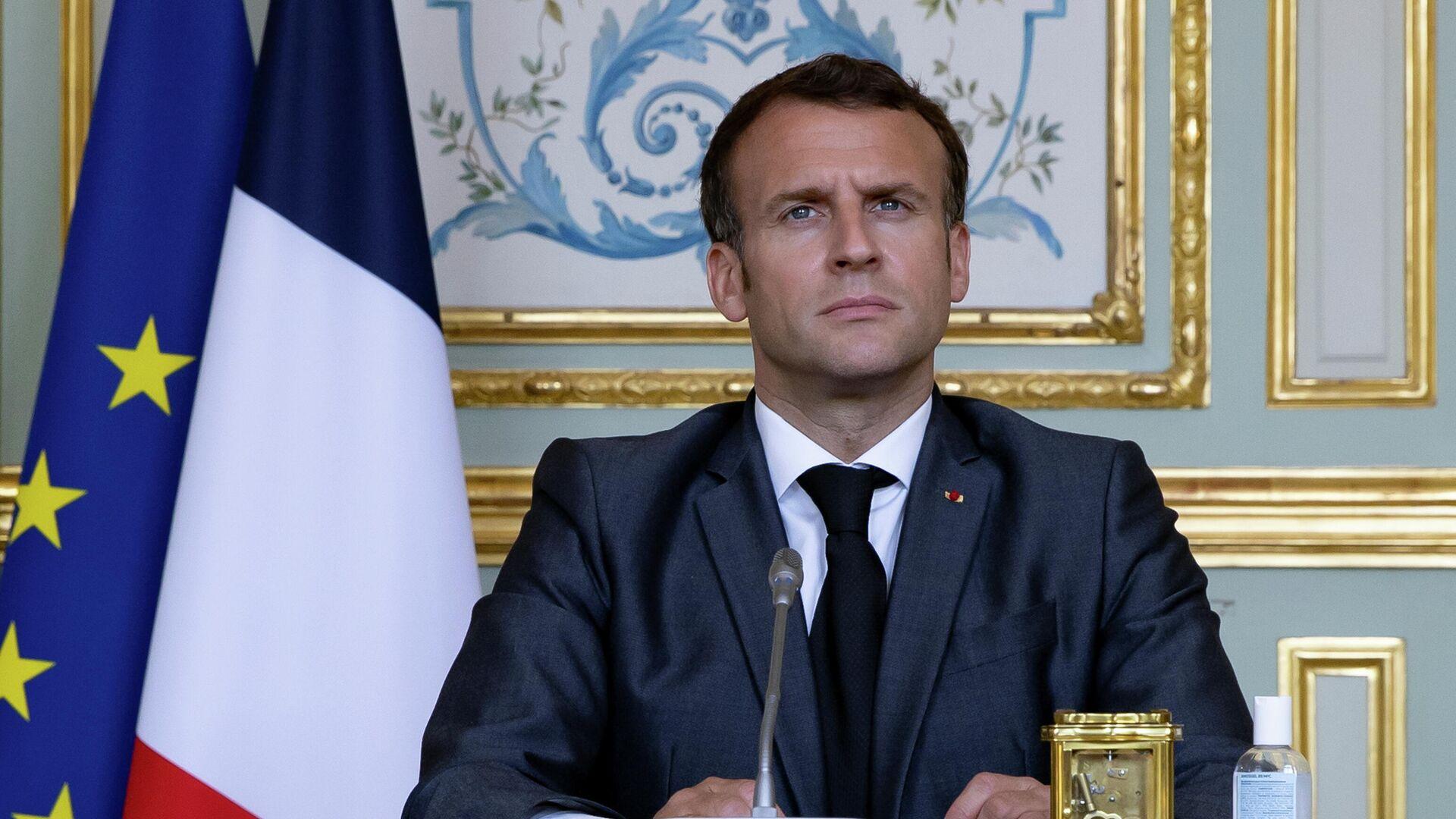 Emmanuel Macron, presidente de Francia - Sputnik Mundo, 1920, 25.05.2021