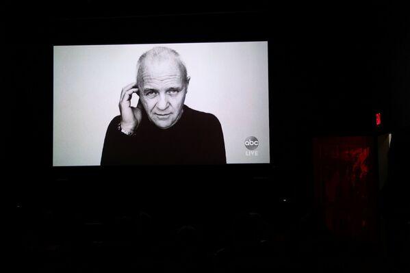 El premio al mejor actor fue para Anthony Hopkins, quien interpretó a un hombre mayor con demencia en El padre, dirigida por Florian Zeller. - Sputnik Mundo