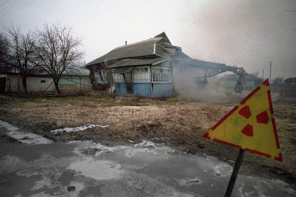 Consecuencias del desastre nuclear de Chernóbil - Sputnik Mundo