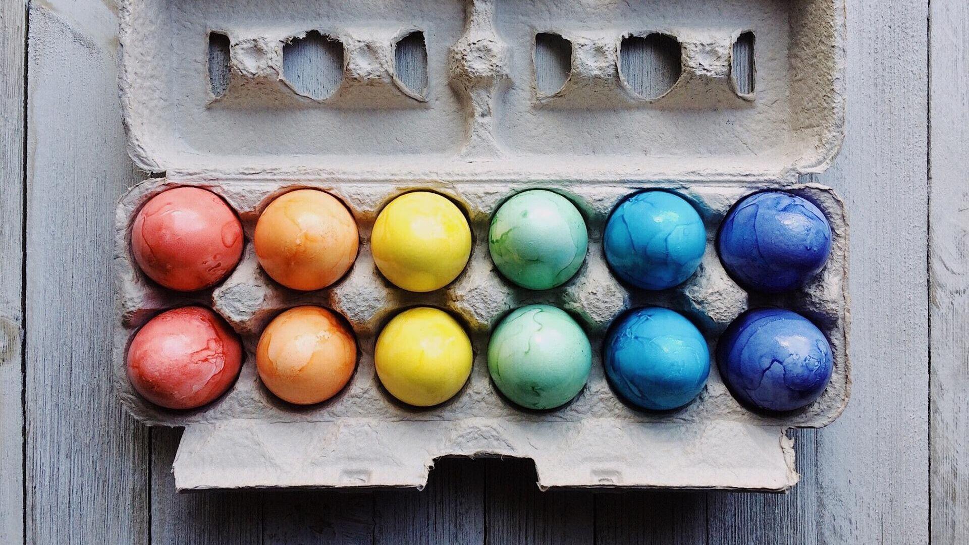 Huevos de Pascua - Sputnik Mundo, 1920, 26.04.2021