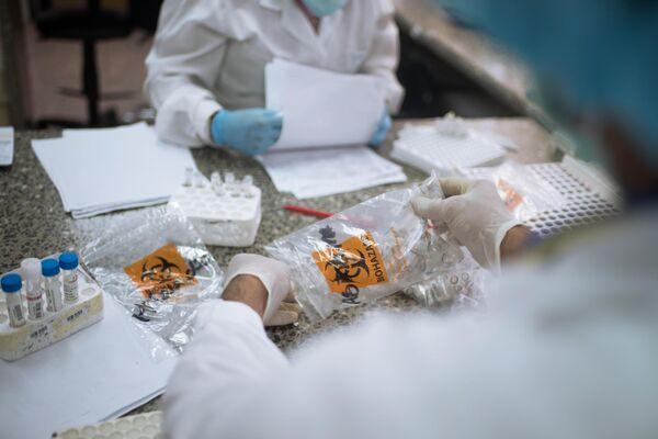 Laboratorio de inmunología viral del Instituto de Higiene 'Rafael Rangel' - Sputnik Mundo