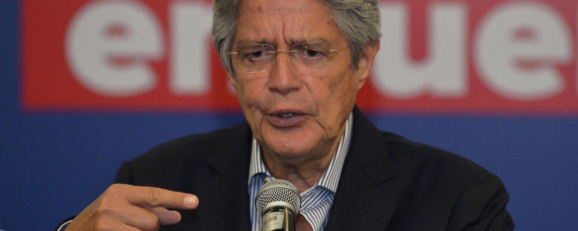 Guillermo Lasso, presidente electo de Ecuador - Sputnik Mundo, 1920, 23.05.2021
