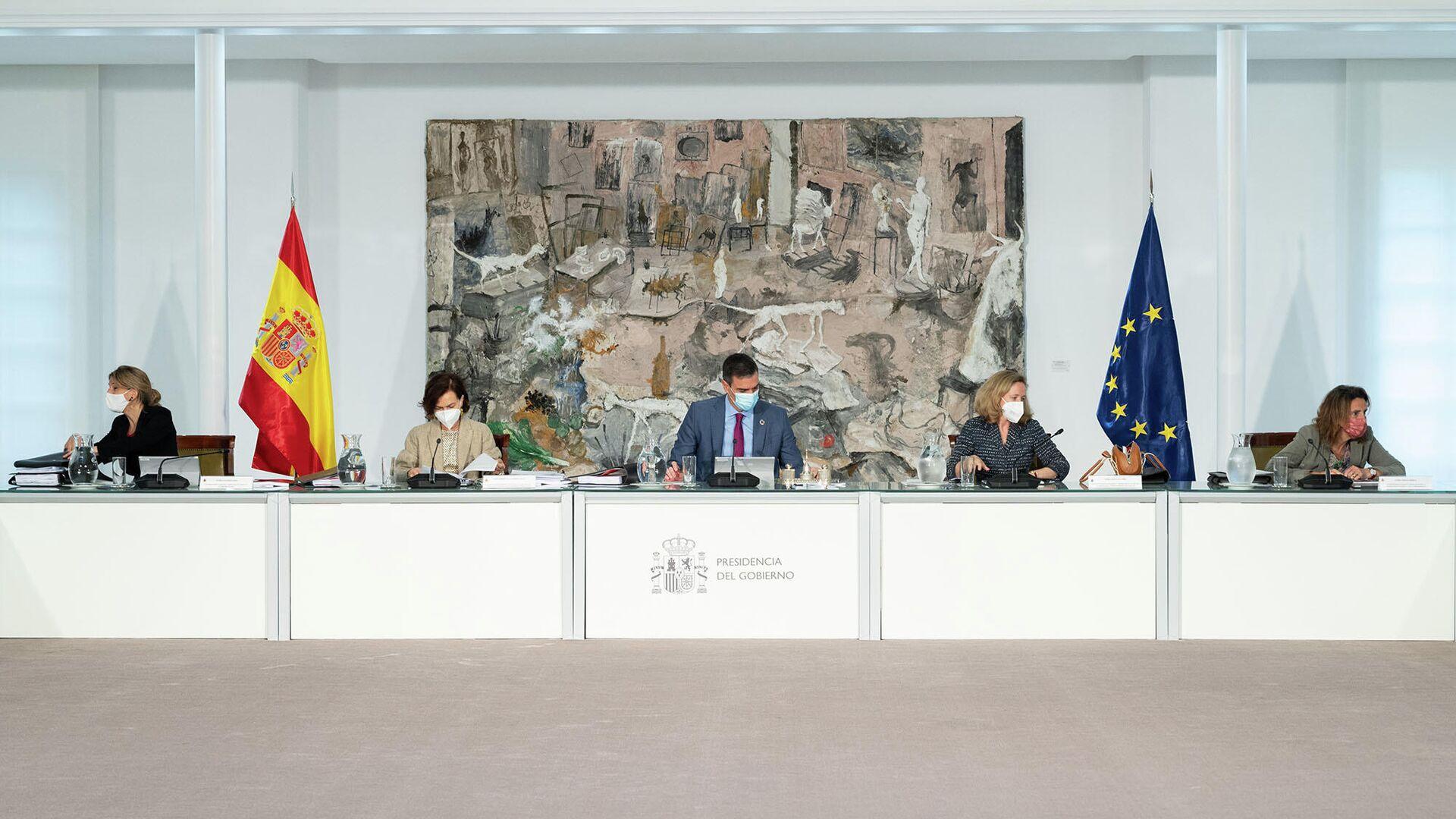 Reunión del Consejo de Ministros del 27 de abril de 2021 - Sputnik Mundo, 1920, 04.05.2021