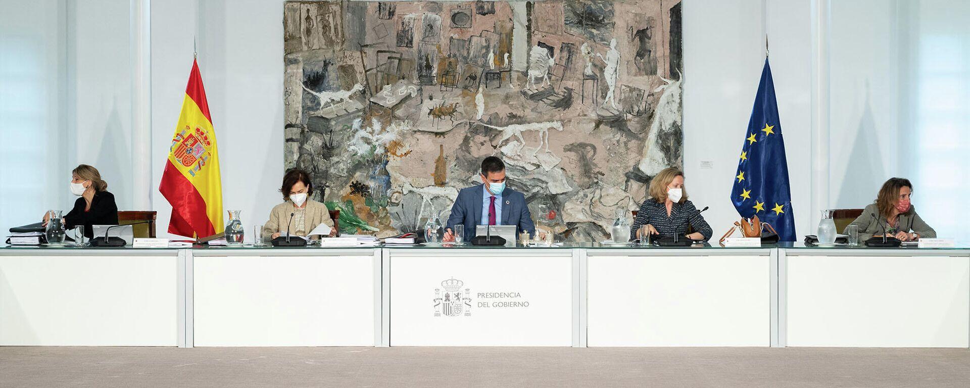 Reunión del Consejo de Ministros del 27 de abril de 2021 - Sputnik Mundo, 1920, 27.04.2021