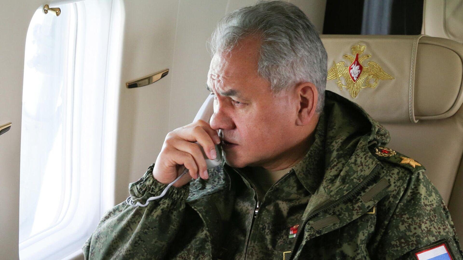 Serguéi Shoigú, ministro ruso de Defensa - Sputnik Mundo, 1920, 27.04.2021