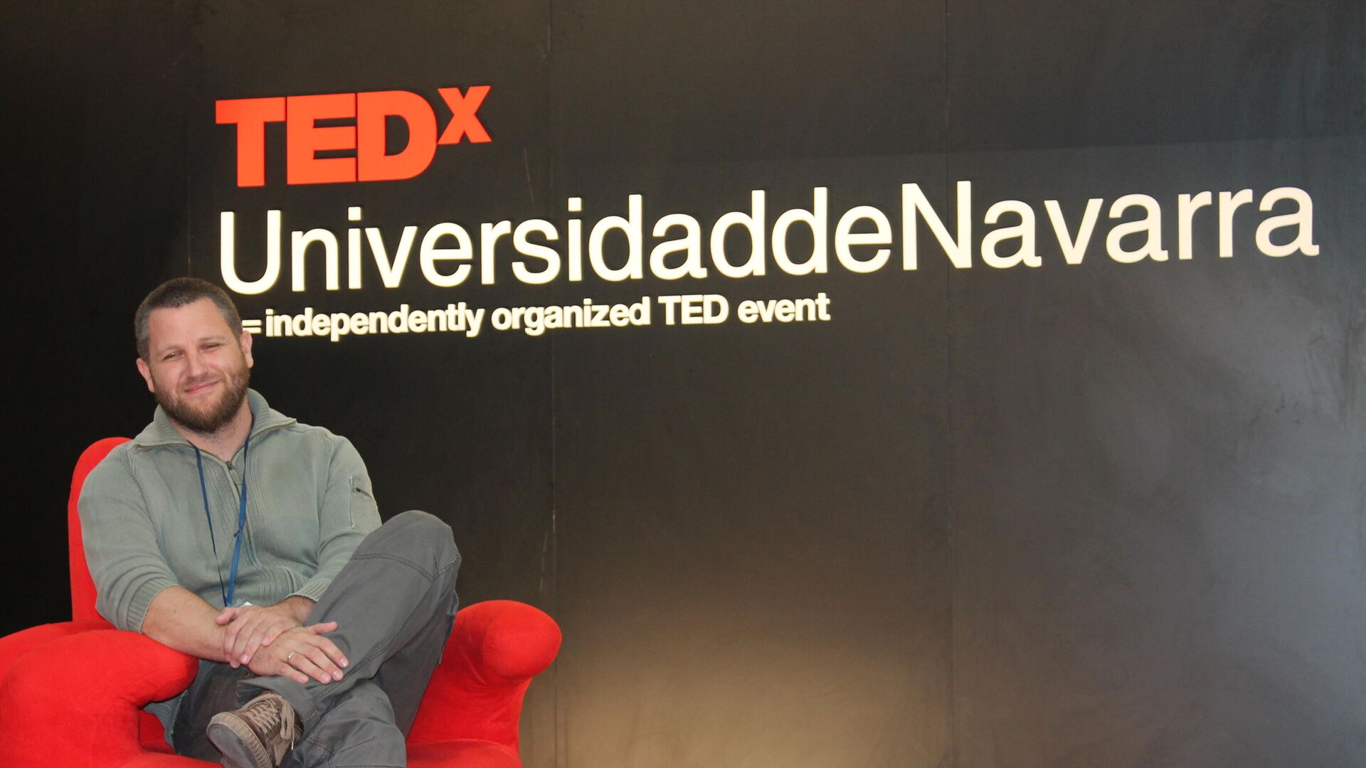 El reportero David Beriain, durante una charla  en Navarra de 2013 - Sputnik Mundo, 1920, 27.04.2021