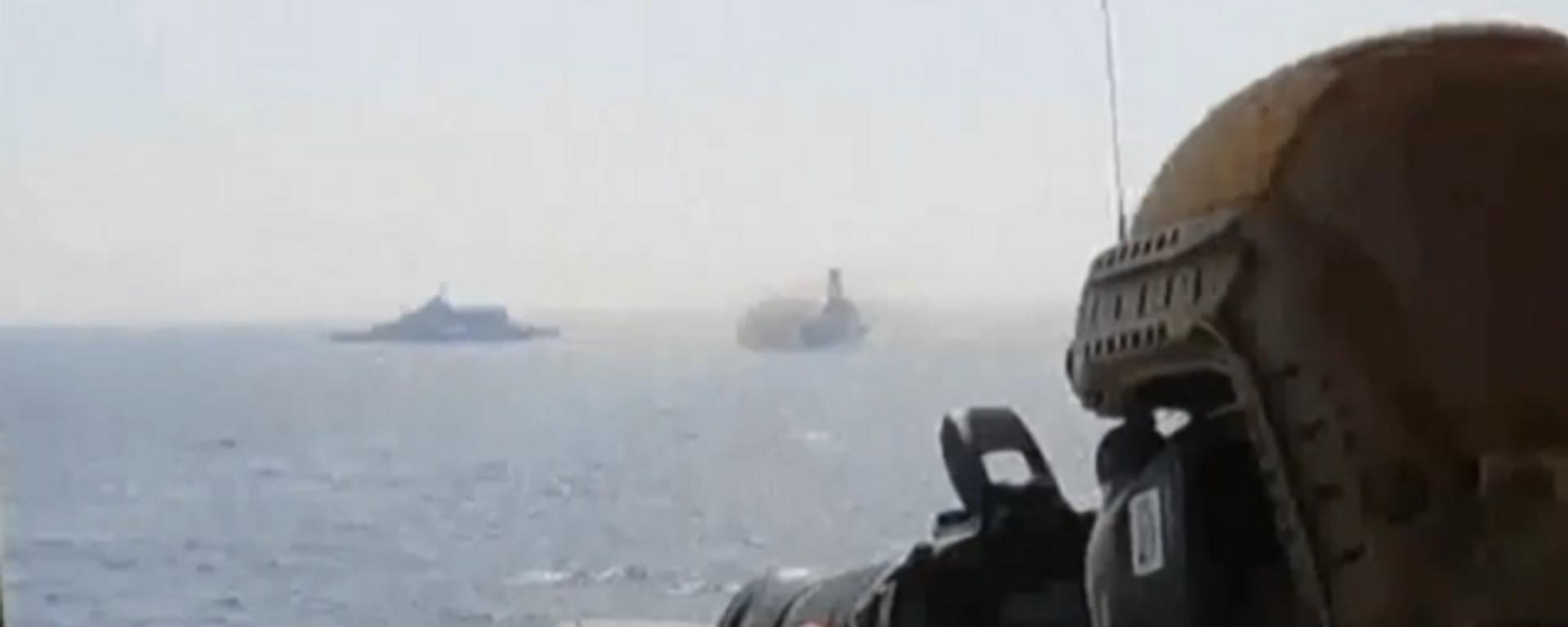 Tenso encuentro entre los buques de EEUU e Irán en el golfo Pérsico - Sputnik Mundo, 1920, 27.04.2021