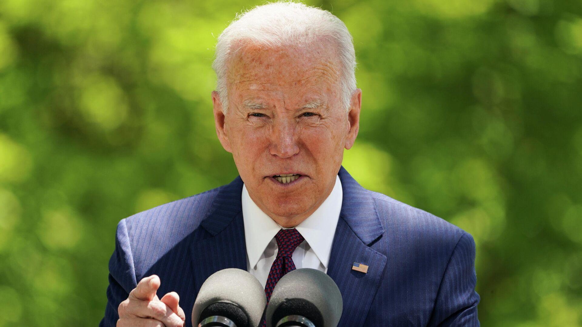 Joe Biden, el presidente estadounidense - Sputnik Mundo, 1920, 03.05.2021
