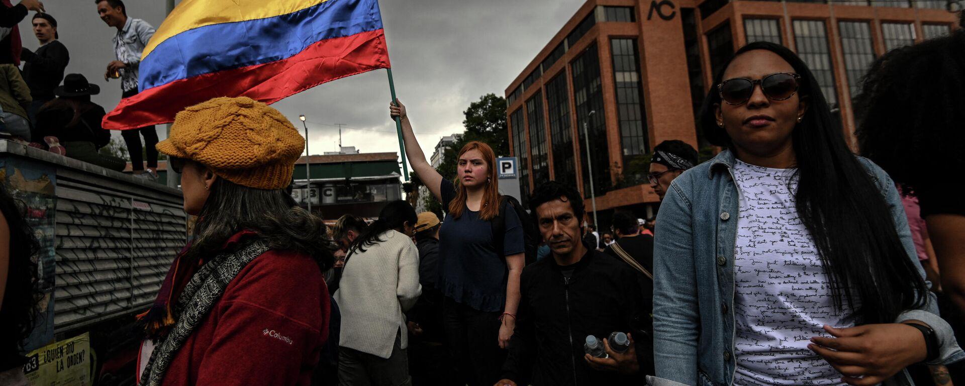 Protestas en Bogotá, Colombia - Sputnik Mundo, 1920, 10.05.2021