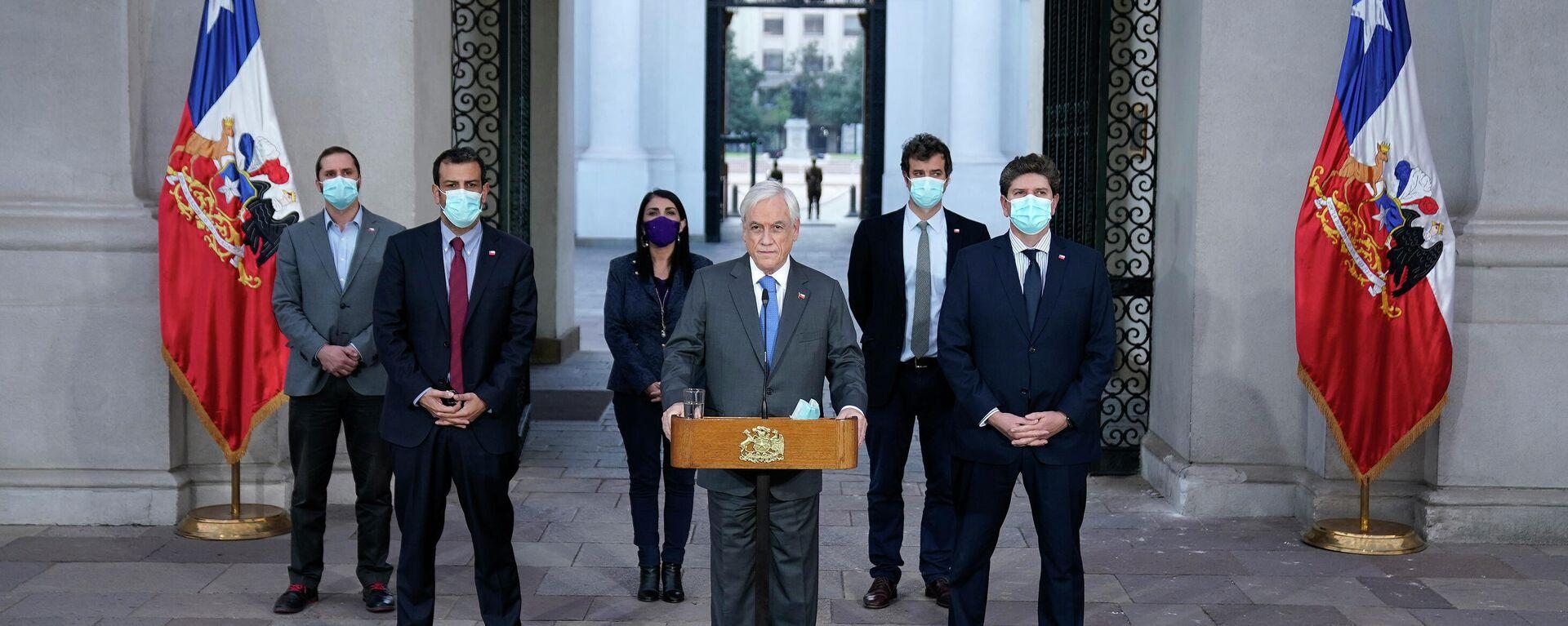 Presidente de Chile, Sebastián Piñera - Sputnik Mundo, 1920, 07.05.2021