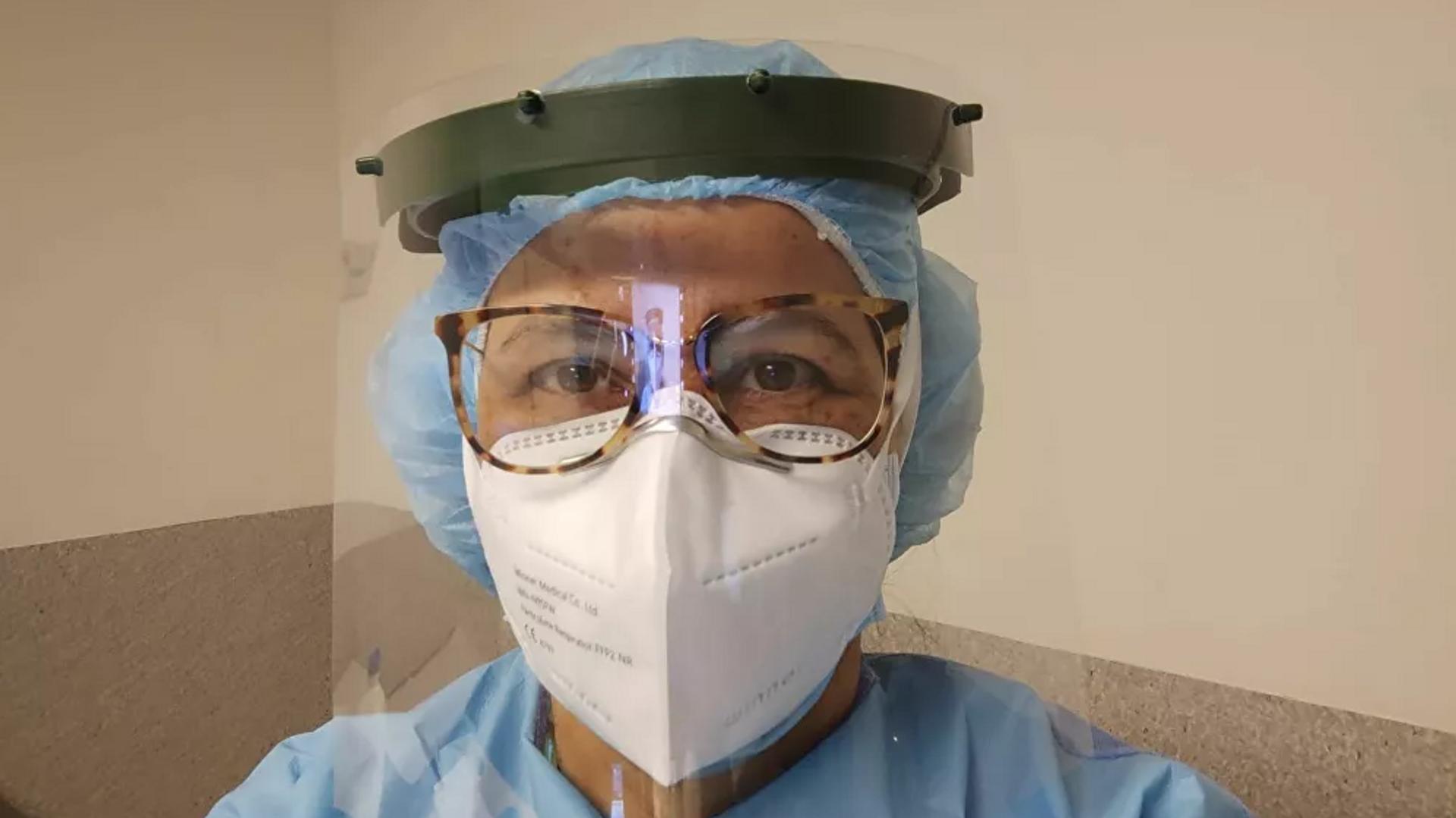 La doctora Nair Amaral, originaria del estado brasileño de Río Grande del Sur, trabaja en Portugal - Sputnik Mundo, 1920, 28.04.2021