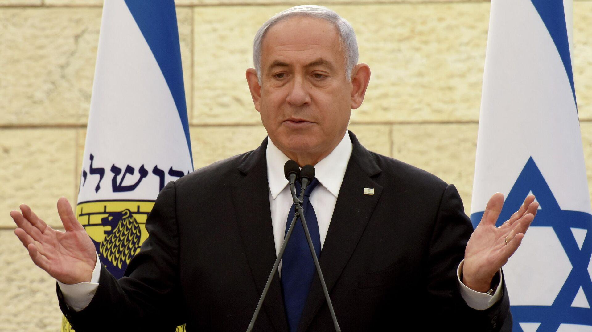 Benjamín Netanyahu, primer ministro israelí - Sputnik Mundo, 1920, 16.05.2021