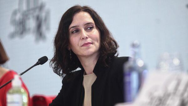 Isabel Díaz-Ayuso, la presidenta de la Comunidad de Madrid - Sputnik Mundo