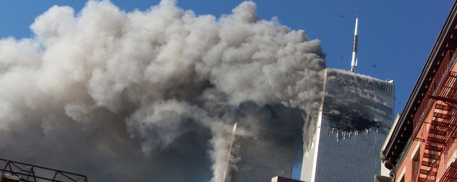 El atentado del 11 de septiembre de 2001 - Sputnik Mundo, 1920, 28.04.2021