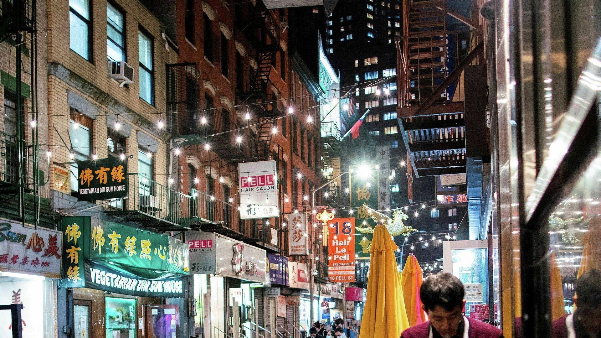 Chinatown en EEUU (imagen referencial) - Sputnik Mundo, 1920, 29.04.2021