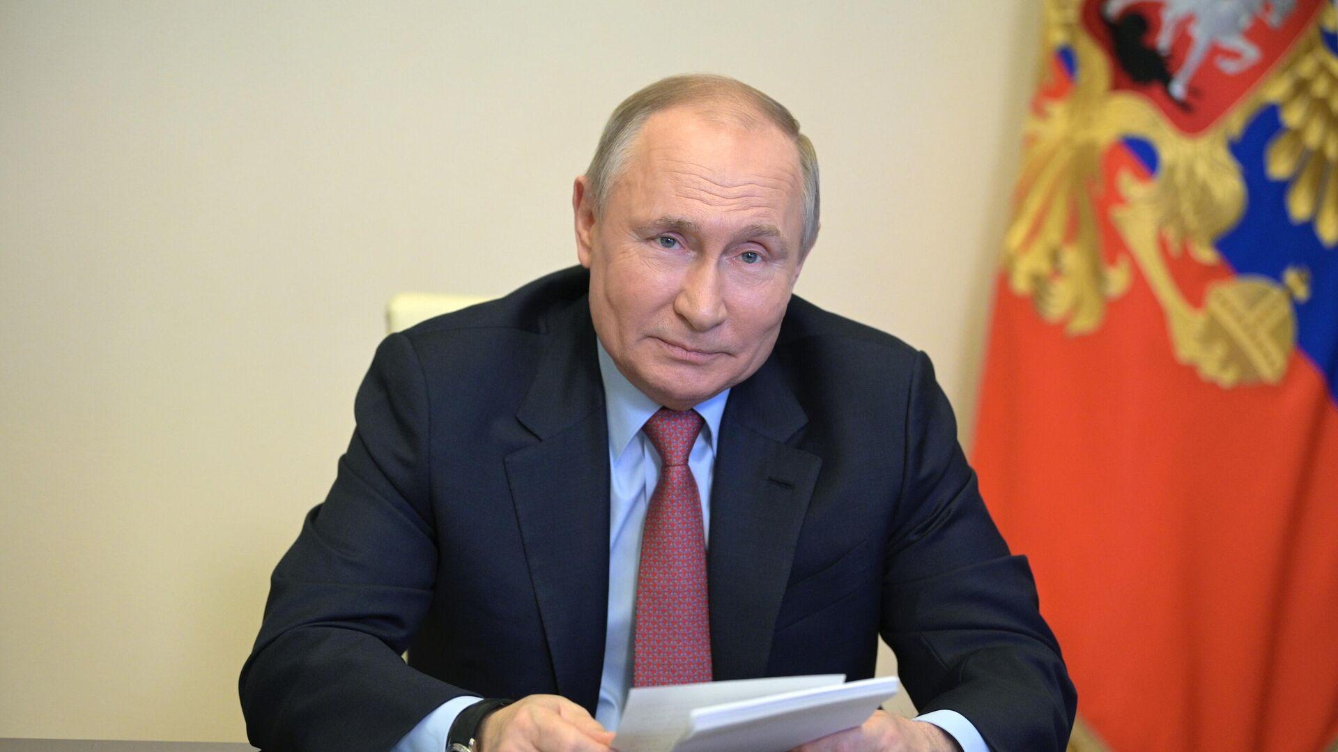 Vladímir Putin, presidente de Rusia - Sputnik Mundo, 1920, 29.04.2021