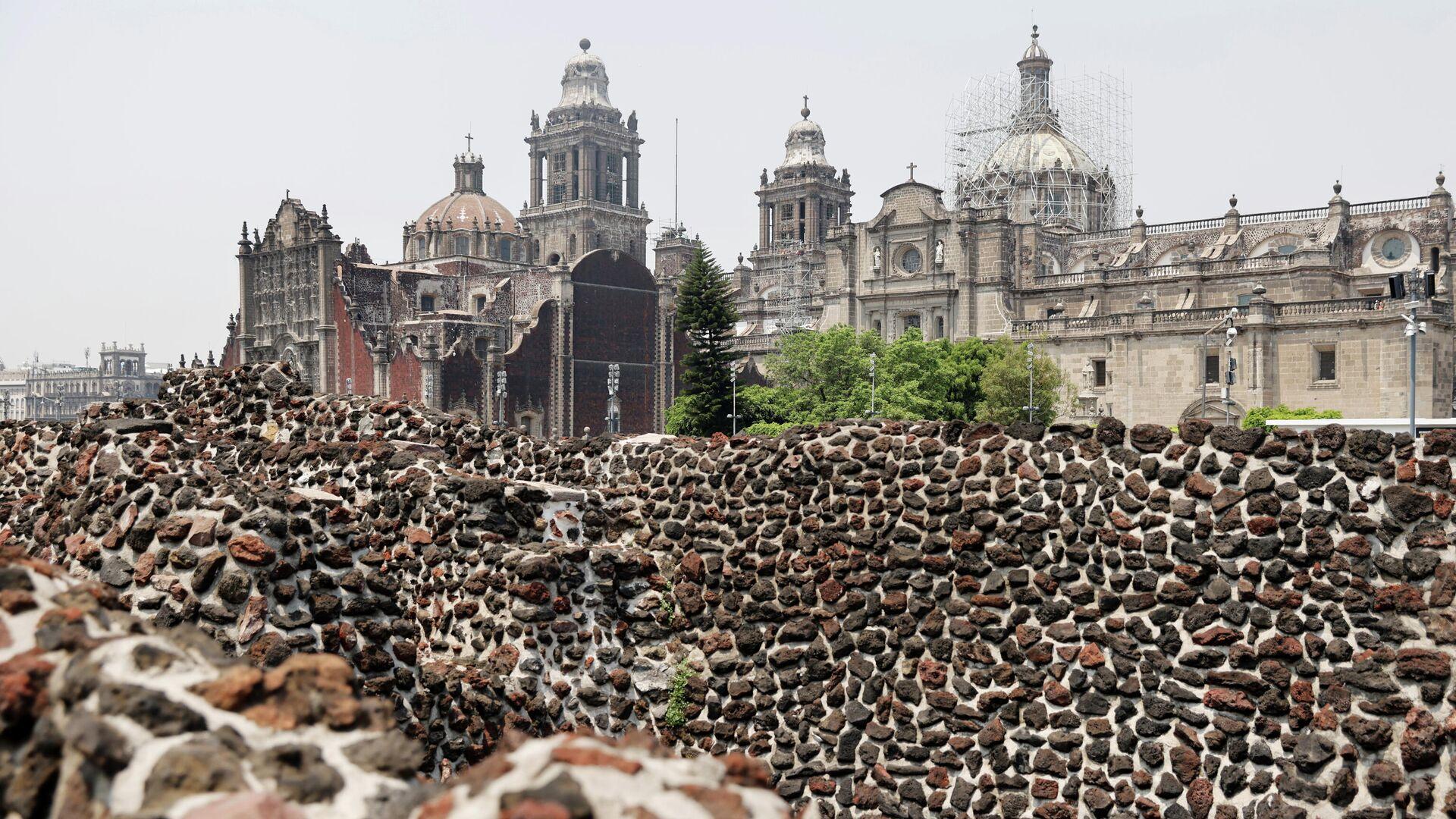 Templo Mayor en Ciudad de México - Sputnik Mundo, 1920, 29.04.2021