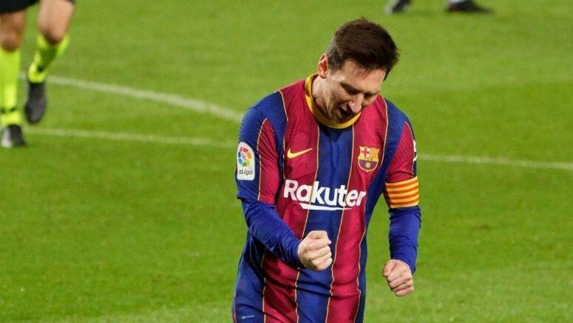 Lionel Messi, jugador argentino del Fútbol Club Barcelona - Sputnik Mundo, 1920, 29.04.2021