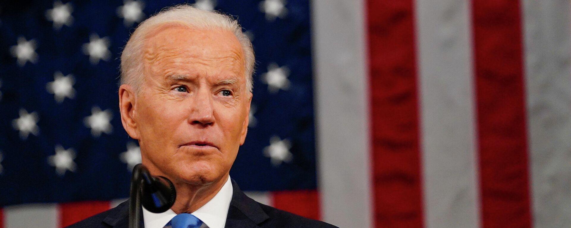 Joe Biden, presidente de EEUU - Sputnik Mundo, 1920, 04.05.2021