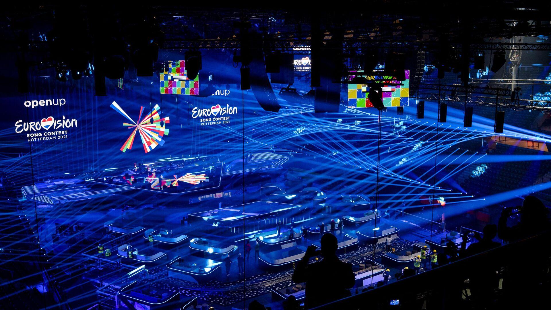 Preparan un estadio para el Festival Eurovisión - Sputnik Mundo, 1920, 29.04.2021