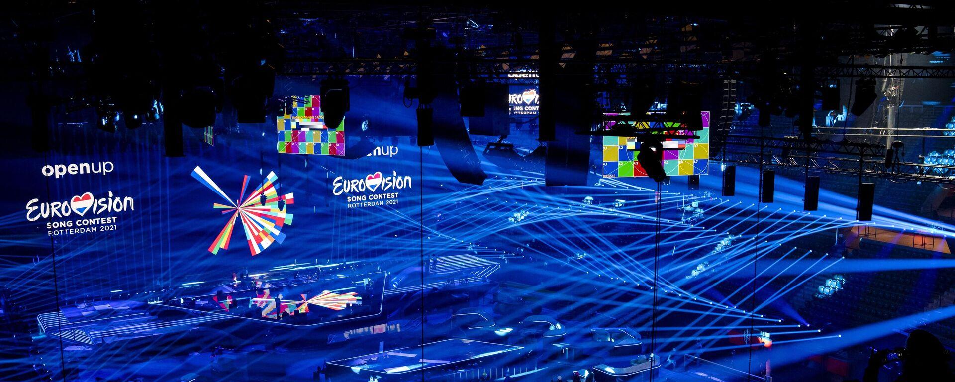 Preparan un estadio para el Festival Eurovisión - Sputnik Mundo, 1920, 22.05.2021