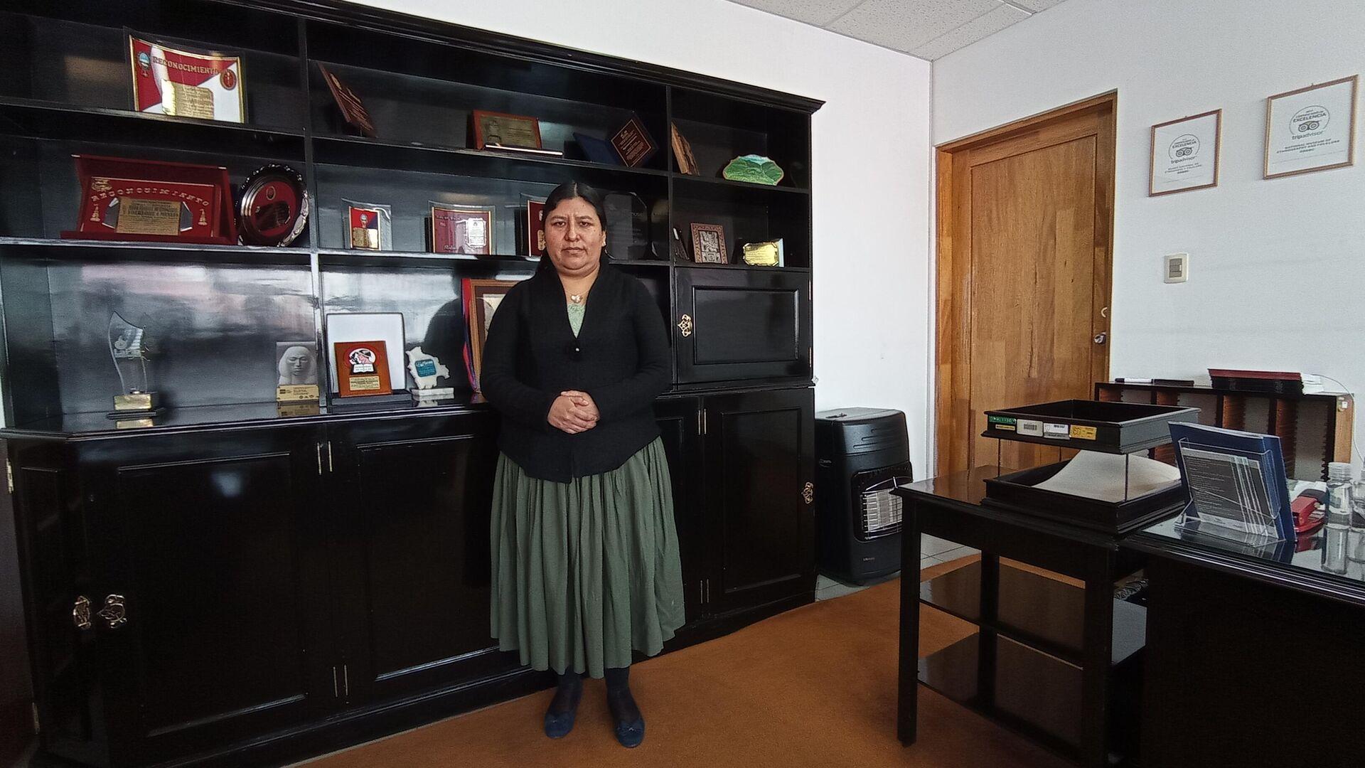 Elvira Espejo, artista boliviana y directora del Museo Nacional de Etnografía y Folklore de Bolivia - Sputnik Mundo, 1920, 29.04.2021