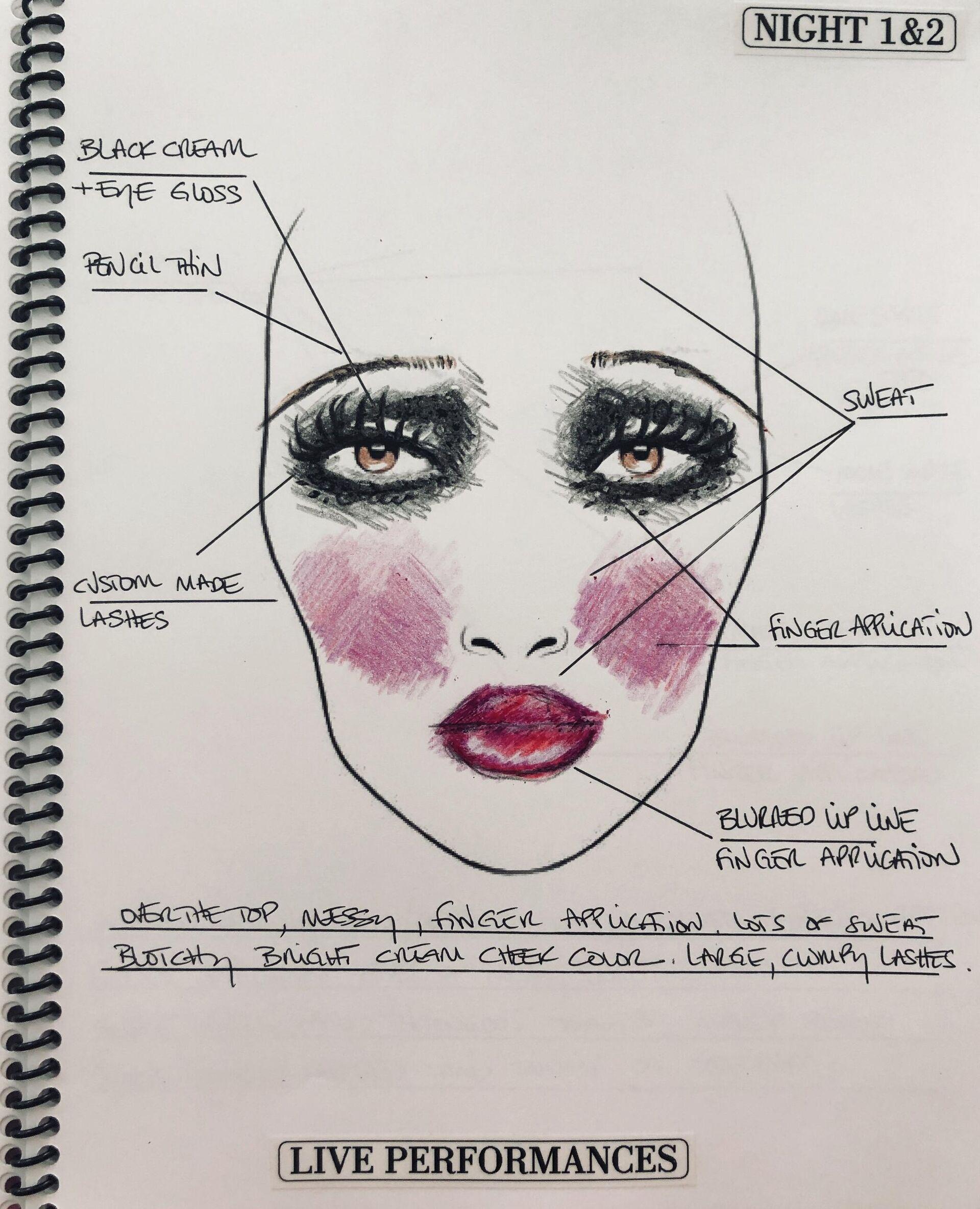 Diseño del maquillaje de Ma Rainey - Sputnik Mundo, 1920, 30.04.2021