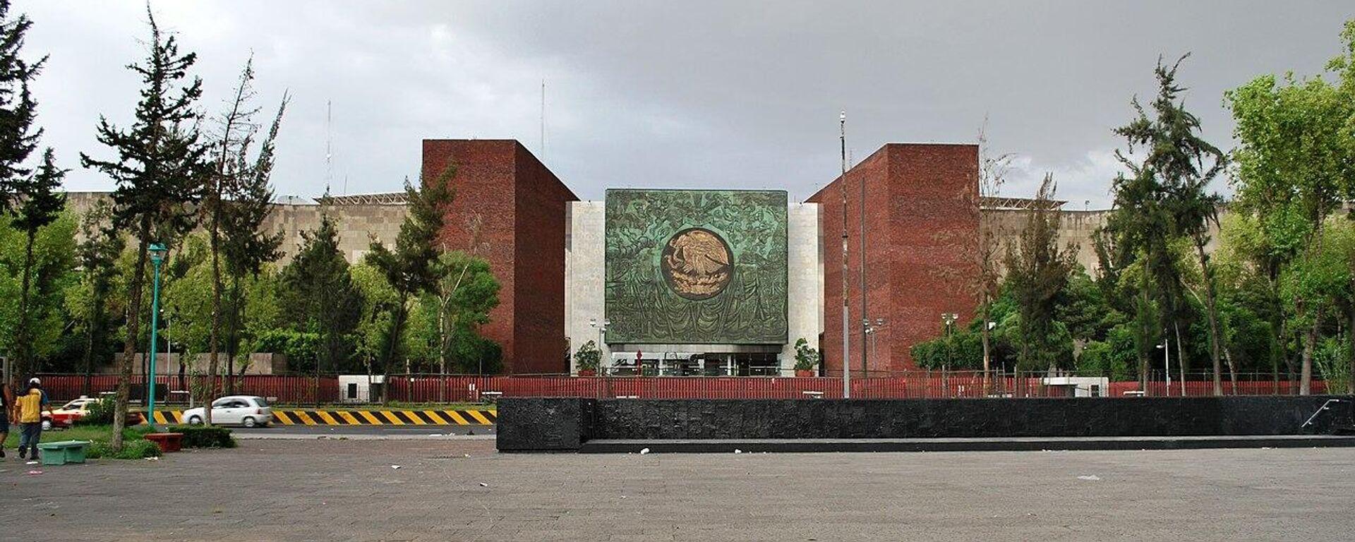 Palacio Legislativo de San Lázaro,  la sede de la Cámara de Diputados de México - Sputnik Mundo, 1920, 25.05.2021