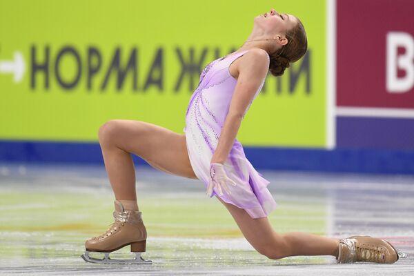 Trúsova presenta su programa corto en el Campeonato de Rusia - Sputnik Mundo