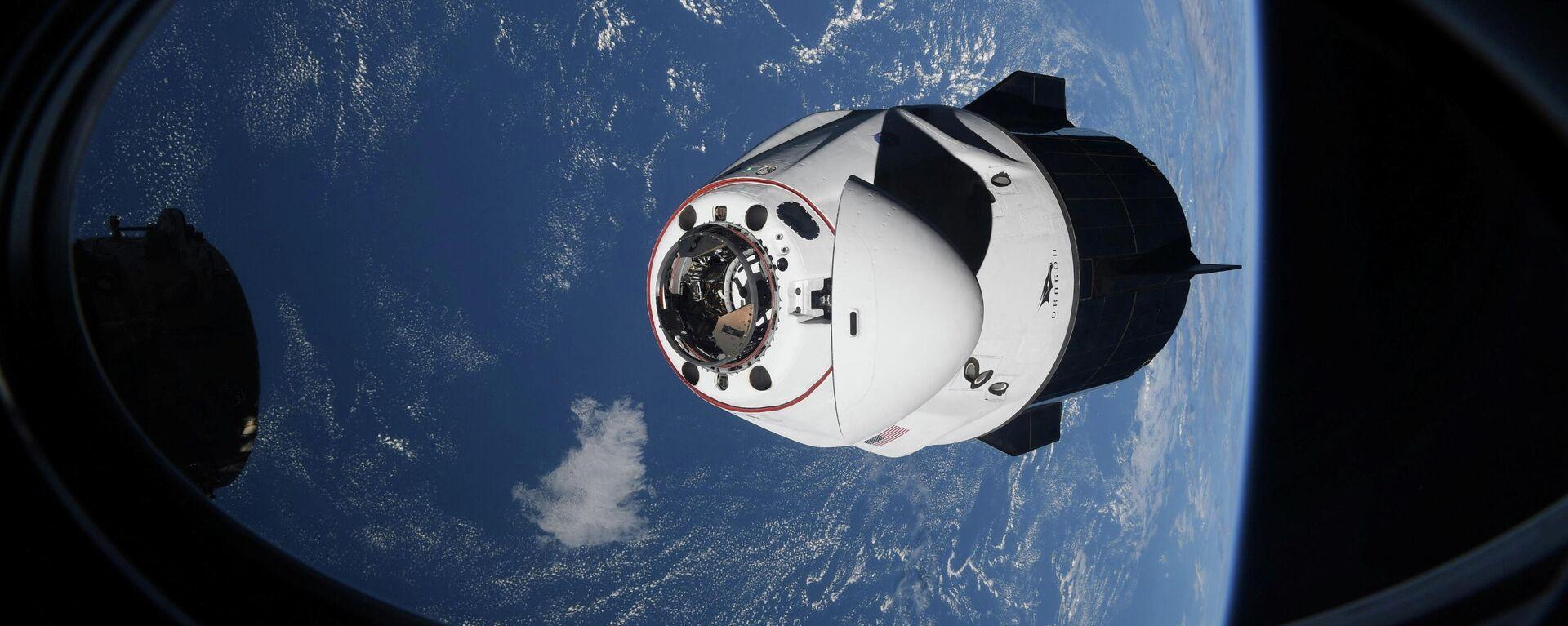 SpaceX Crew Dragon - Sputnik Mundo, 1920, 01.05.2021