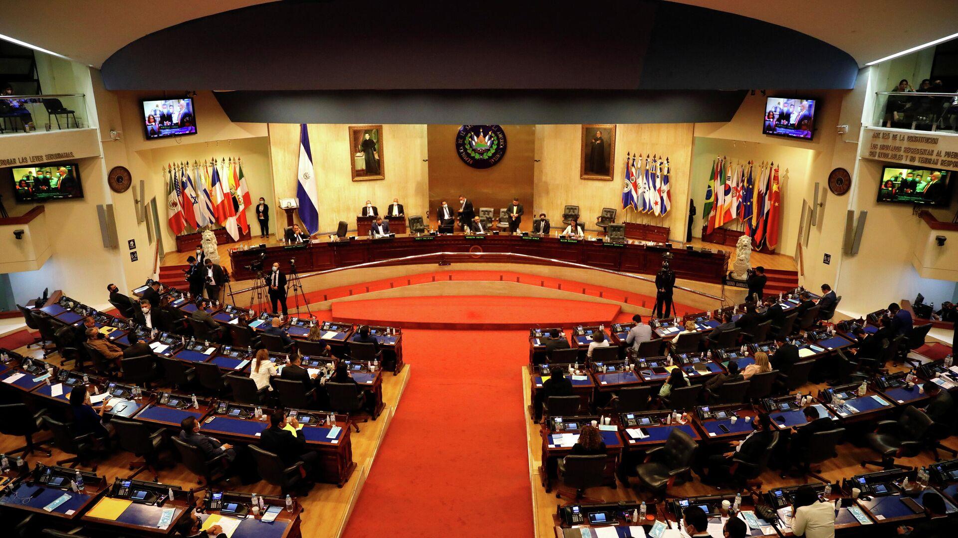 La Asamblea Legislativa (Parlamento) de El Salvador - Sputnik Mundo, 1920, 21.05.2021