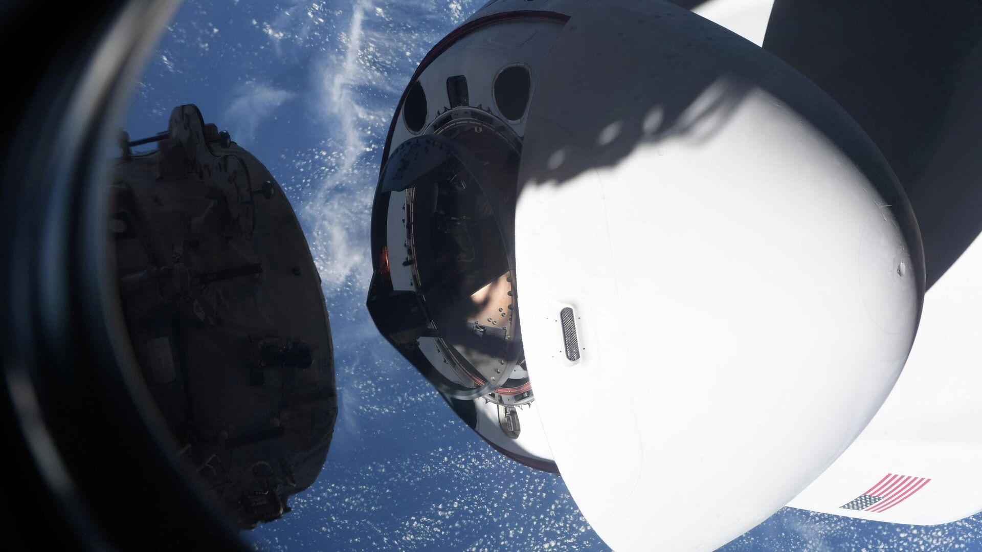 Cápsula de la nave espacial Crew Dragon - Sputnik Mundo, 1920, 02.05.2021