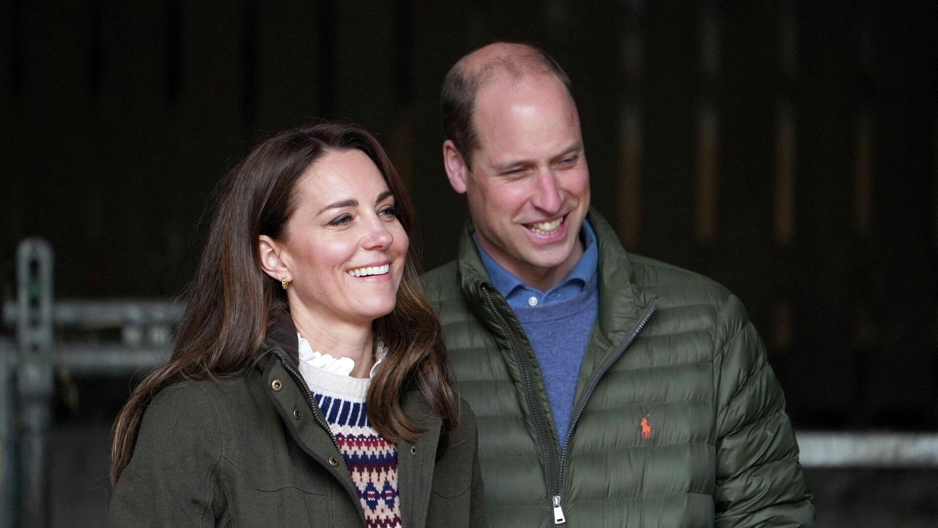 El príncipe William y su esposa, Kate Middleton - Sputnik Mundo, 1920, 02.05.2021