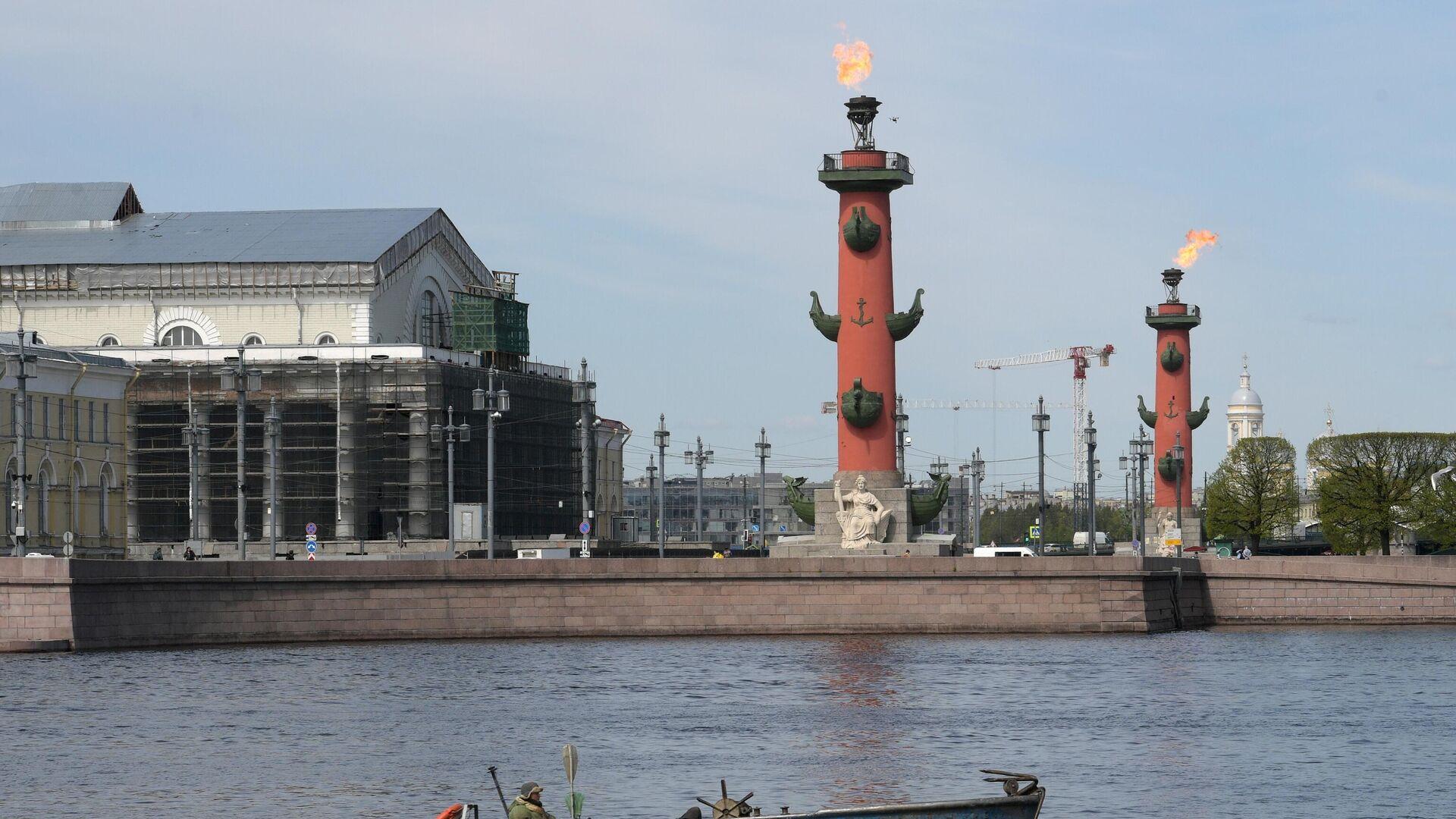 Columnas Rostrales de San Petersburgo - Sputnik Mundo, 1920, 03.05.2021
