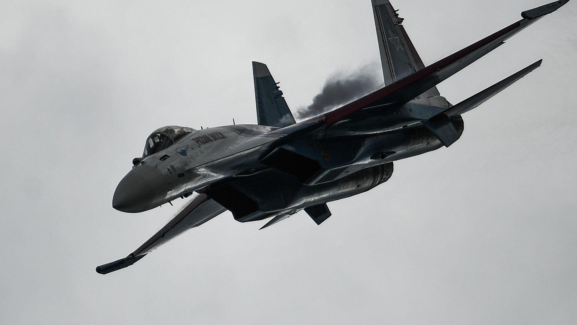 Caza ruso Su-35S - Sputnik Mundo, 1920, 10.06.2021
