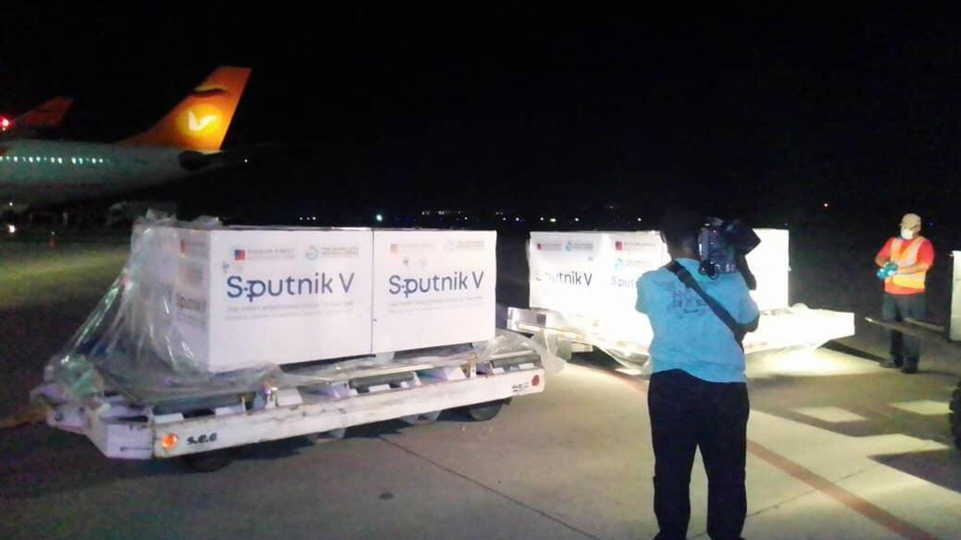 El sexto cargamento de la vacuna Sputnik V llega a Venezuela - Sputnik Mundo, 1920, 03.05.2021