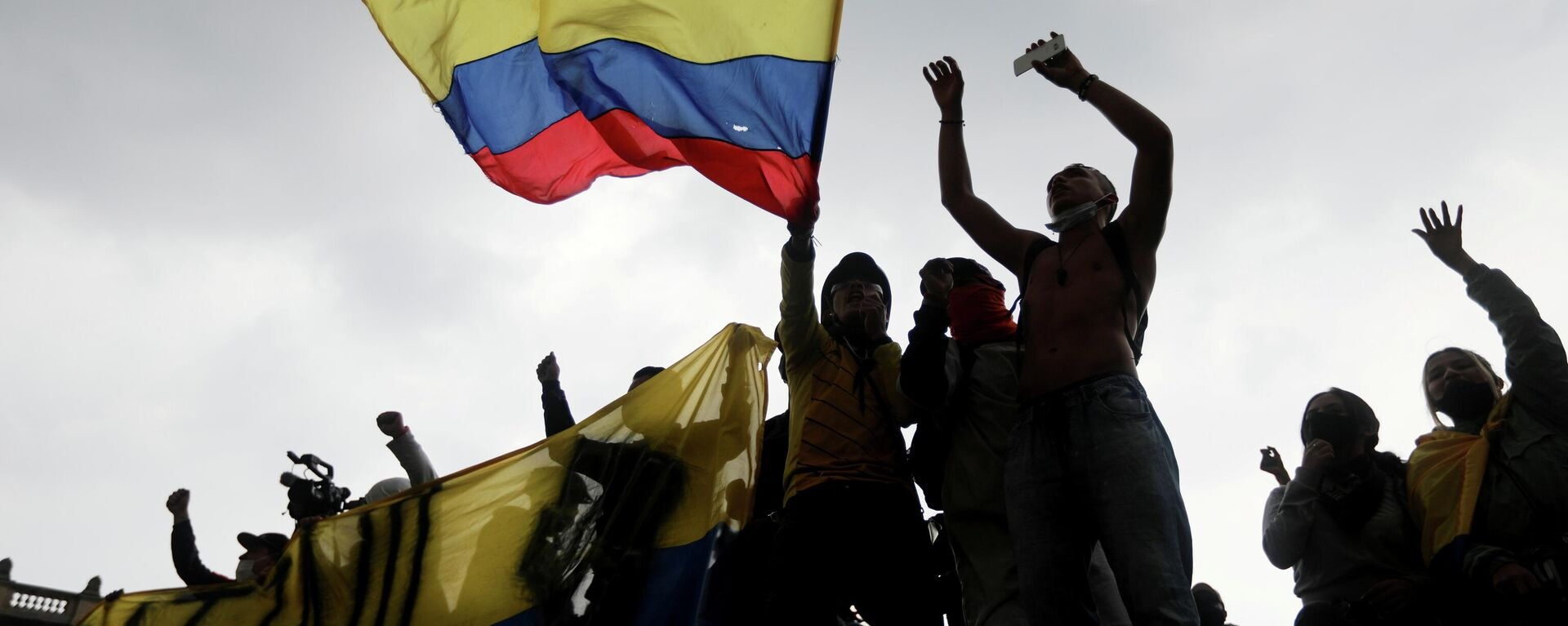 Protestas en Bogotá, Colombia - Sputnik Mundo, 1920, 03.05.2021