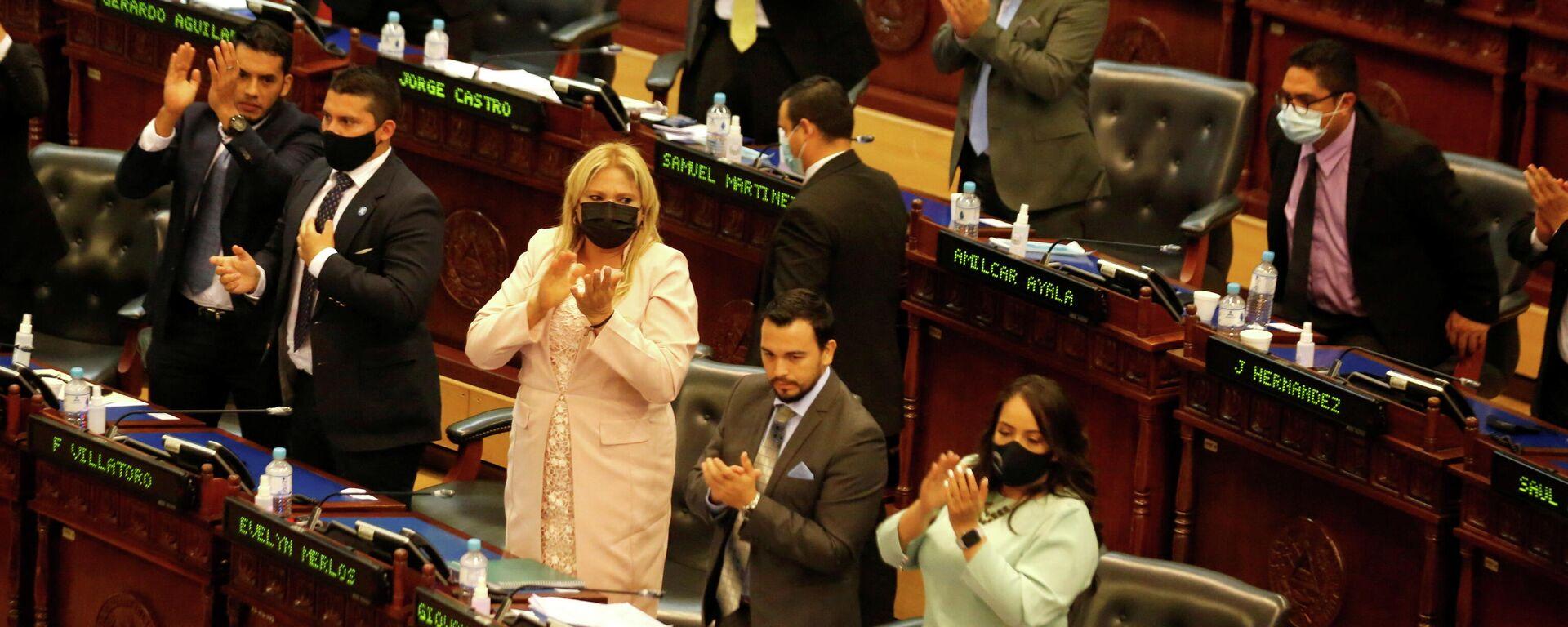 La Asamblea Legislativa (Parlamento) de El Salvador - Sputnik Mundo, 1920, 03.05.2021