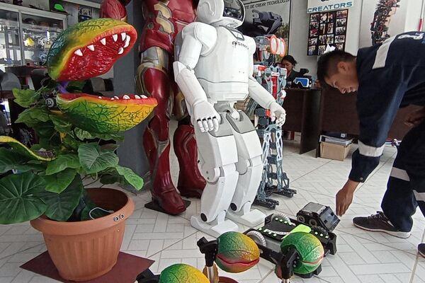 Robotics Creators está ubicada en Achocalla, municipio rural de La Paz - Sputnik Mundo